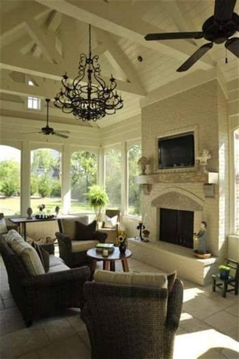 40 Best Screened Porch Design and Decorating Ideas On Budget 29
