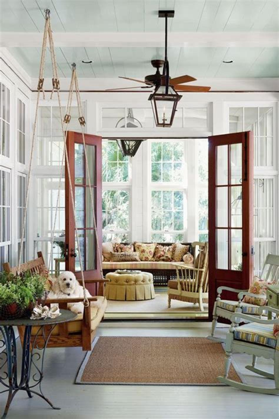 40 Best Screened Porch Design and Decorating Ideas On Budget 30