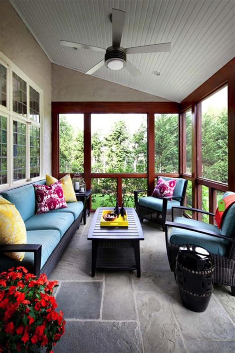 40 Best Screened Porch Design and Decorating Ideas On Budget 32