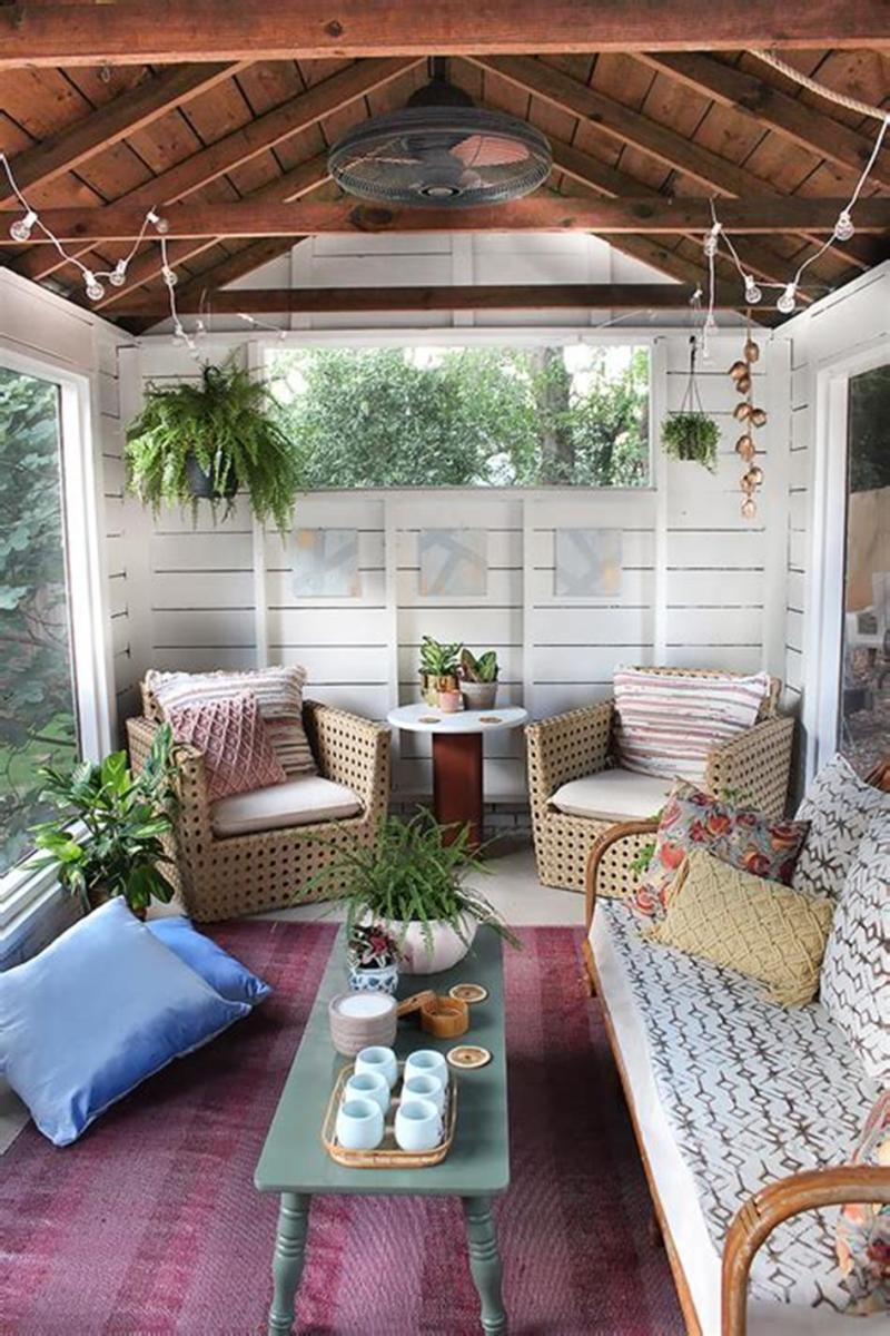 40 Best Screened Porch Design and Decorating Ideas On Budget 37