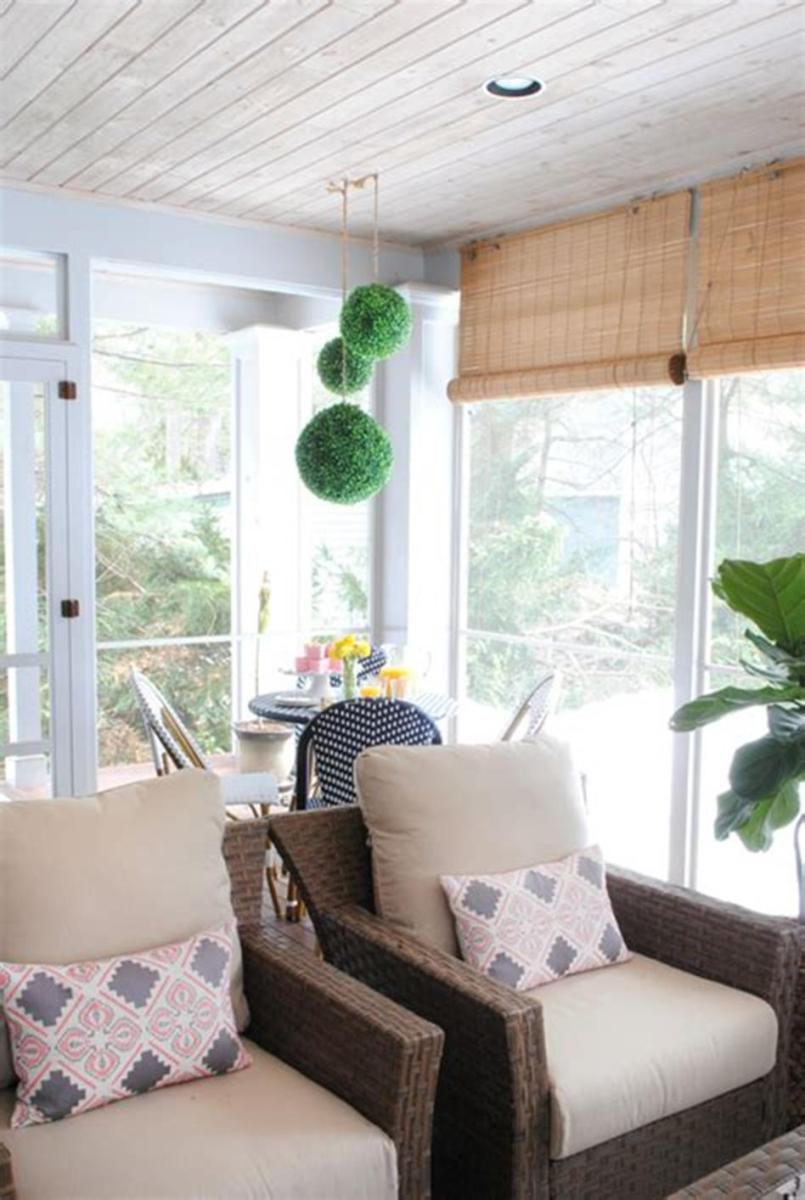 40 Best Screened Porch Design and Decorating Ideas On Budget 41