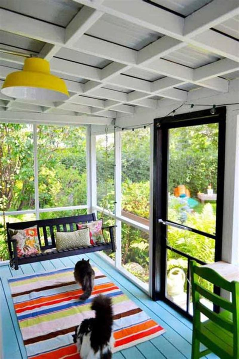 40 Best Screened Porch Design and Decorating Ideas On Budget 45