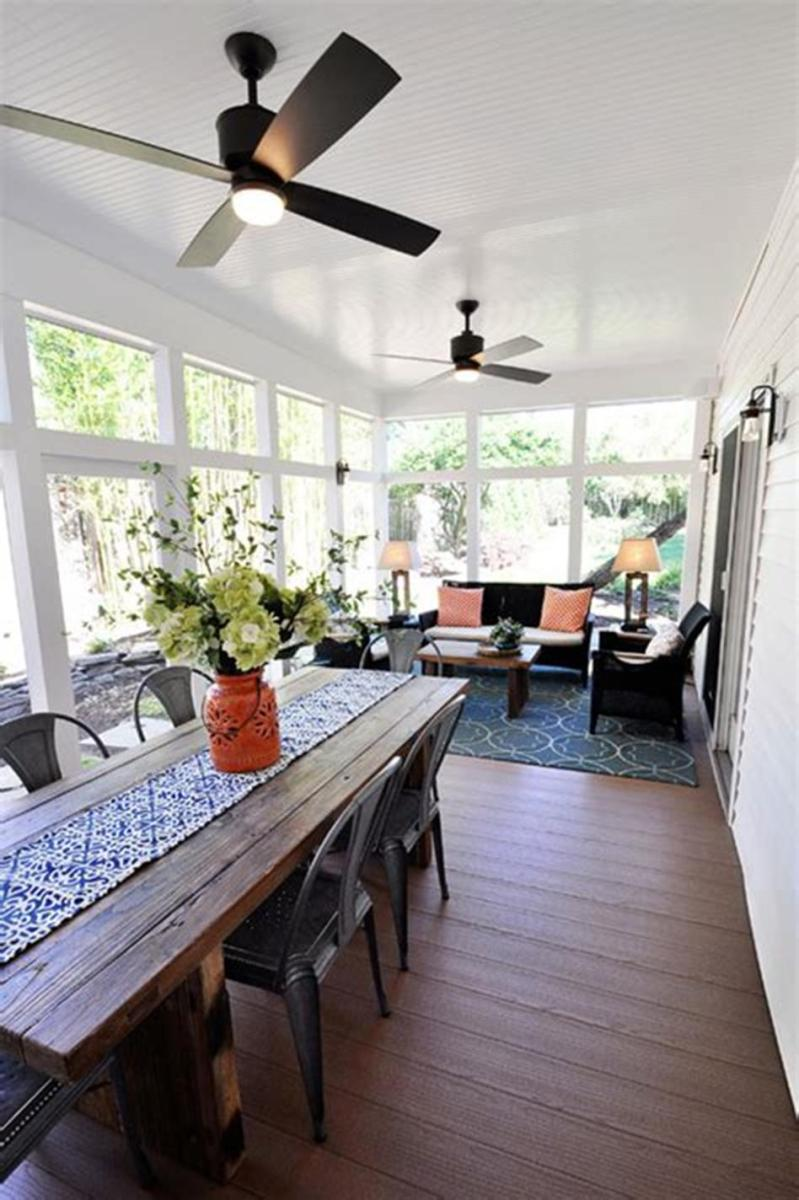 40 Best Screened Porch Design and Decorating Ideas On Budget 9