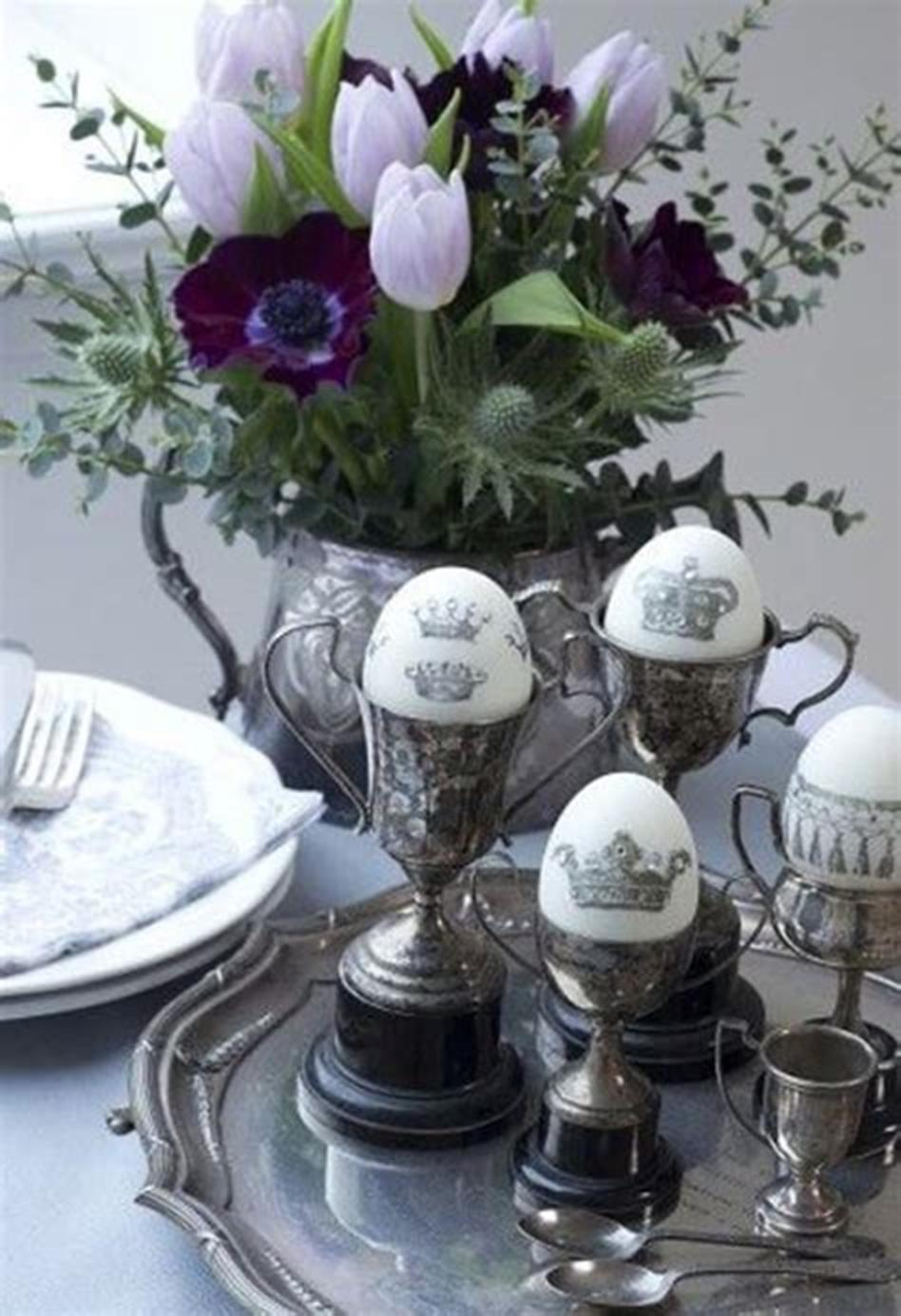 42 DIY Beautiful Vintage Spring Decorations Ideas You Will Love 35