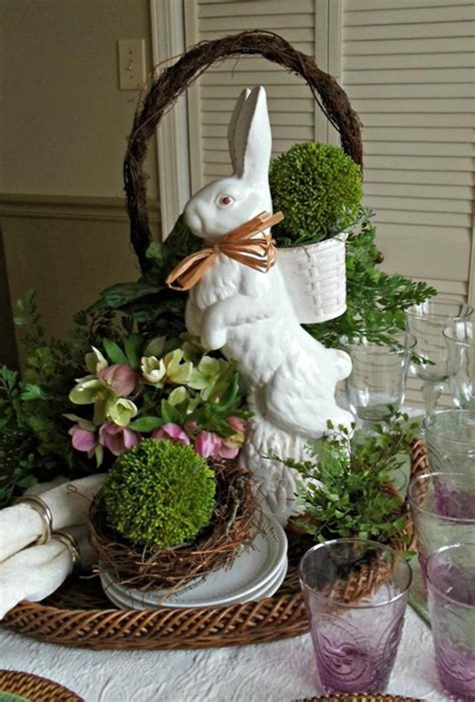 42 DIY Beautiful Vintage Spring Decorations Ideas You Will Love 41