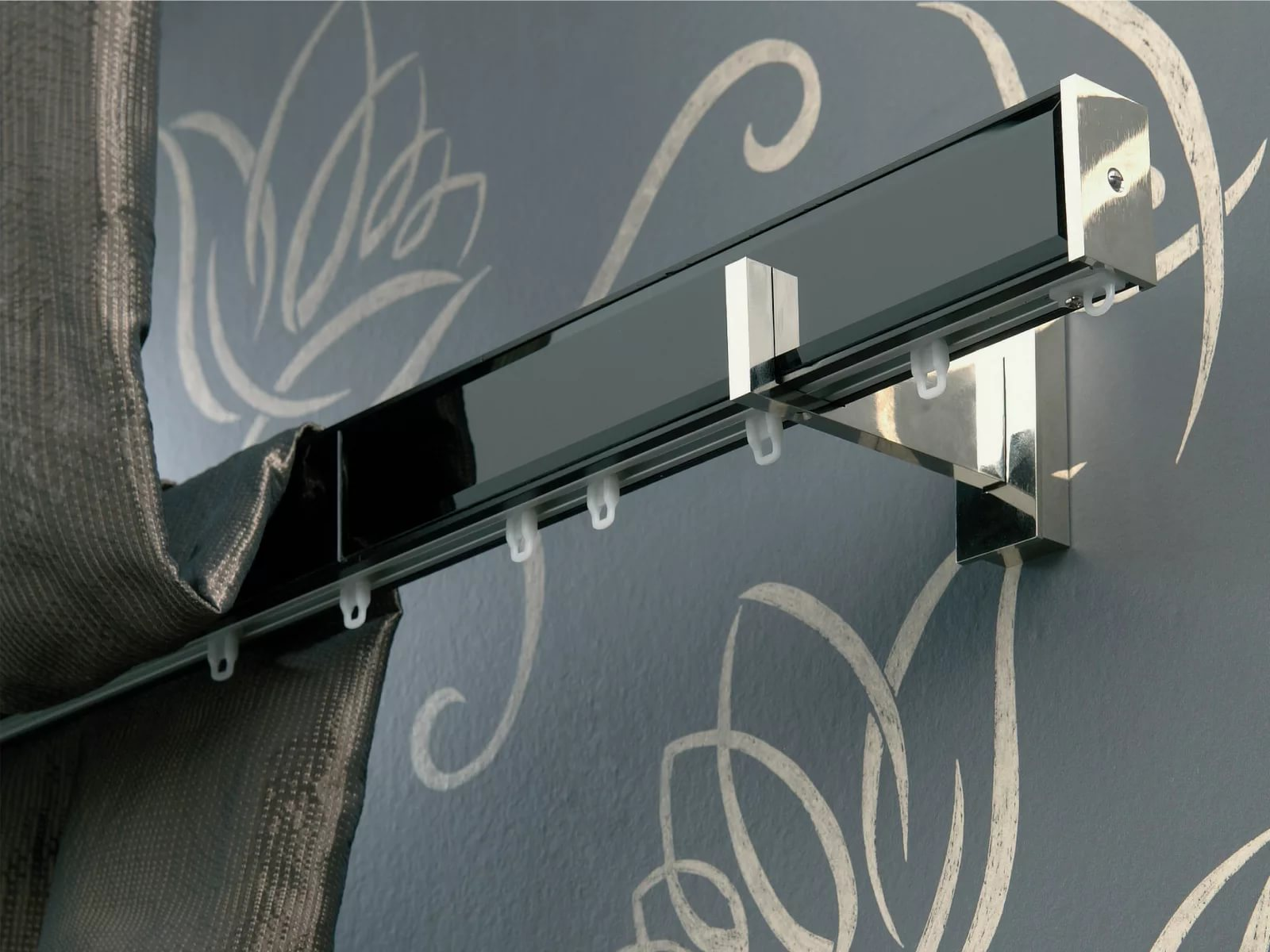 metal curtain rods for curtains 43