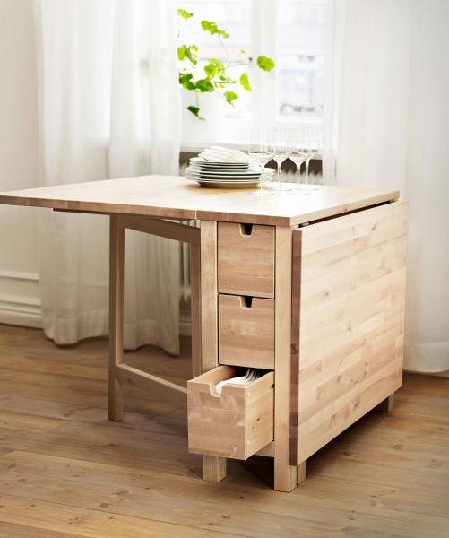 table pliante ikea modeles muraux