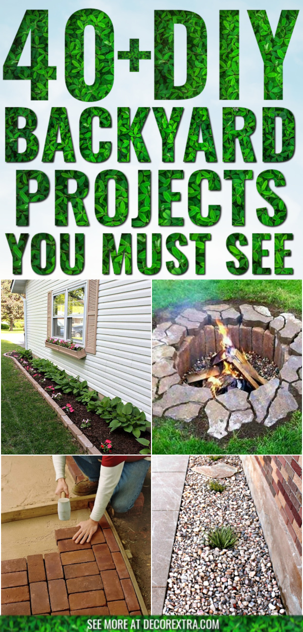 40 Best Diy Backyard Ideas And Projects For 2019