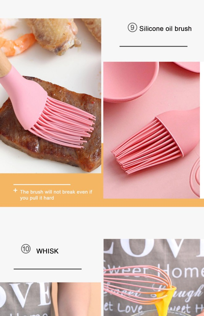 Cooking Spoons Set