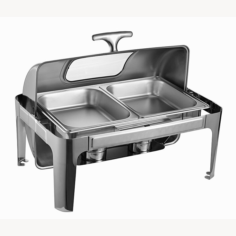 Rectangular Double Chafing Dish