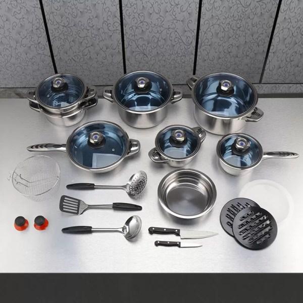 25 pcs Cookware