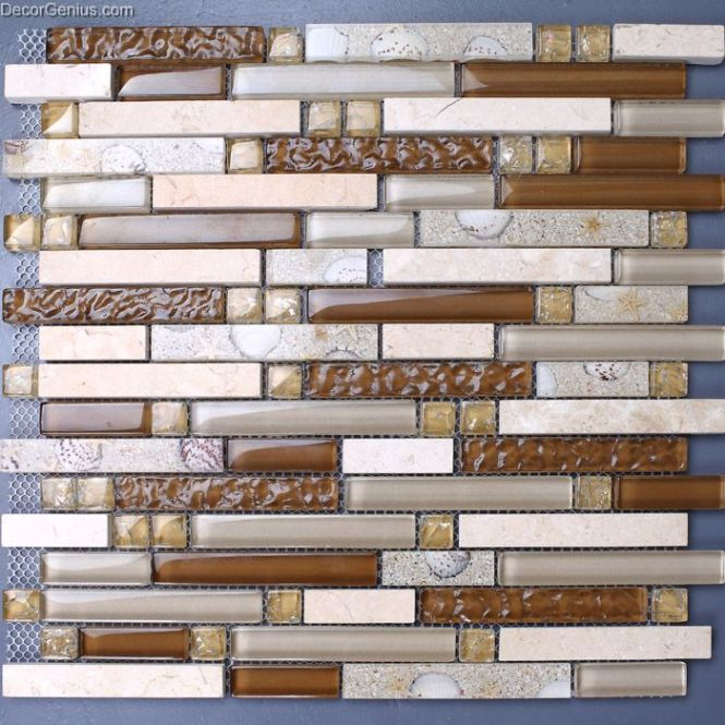 Subway Tile Bamboo Flooring 12x24 Marble