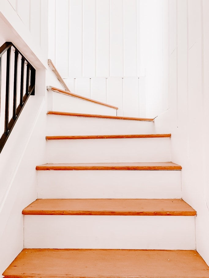 How To Install A Stair Runner With Rods 6 Easy Steps Decor Hint   Solid Color Stair Runners   Non Slip   Rectangle   Rubber Backed   Modern Stair   Flooring
