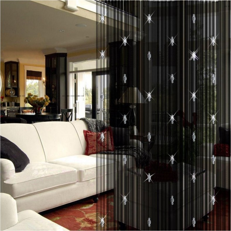 Beautiful And Unique Room Divider Curtains (56)