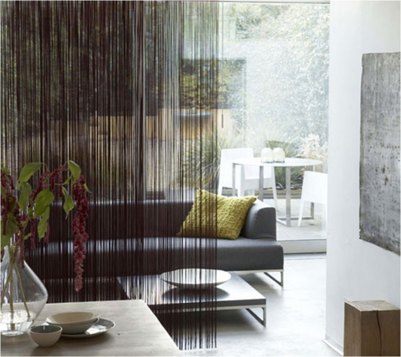 Beautiful And Unique Room Divider Curtains (85)