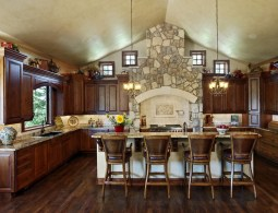 Classic French Country Kitchen And Dining Room
