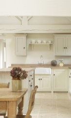 Cream Colored Kitchen Cabinet Doors With Dining Room