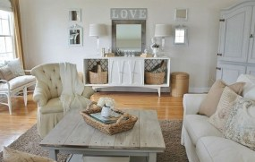 Gorgeous Farmhouse Living Room Decor Ideas And Designs (22)