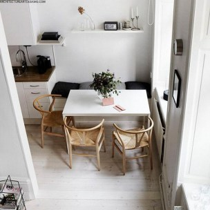 Chic Small Kitchen Tables For Small Apartments