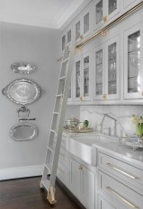Chick and Antique Farmhouse Kitchen Cabinet