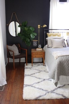 Dark Grey Bedrooms Decorating Design Ideas (12)