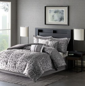 Dark Grey Bedrooms Decorating Design Ideas (16)