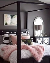 Dark Grey Bedrooms Decorating Design Ideas (8)