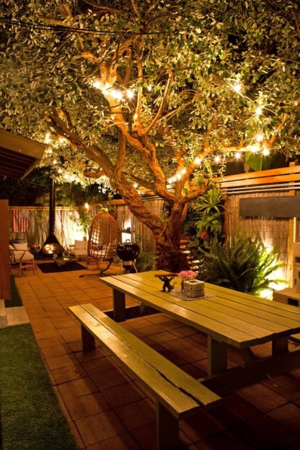 Deck Decorating Ideas With Lights