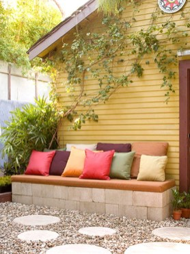 Deck Decorating With Plants