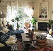 Eclectic And Quirky Living Room Decor Styling Ideas (11)