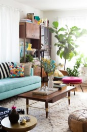 Eclectic And Quirky Living Room Decor Styling Ideas (39)