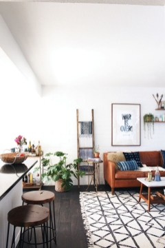 Eclectic And Quirky Living Room Decor Styling Ideas (60)