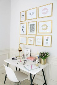 Home Office Ideas For Small Space Wall Decor