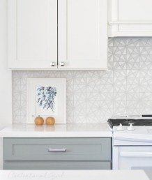 Kitchen Tile Backsplash Ideas Suitable For Your Kitchen (22)