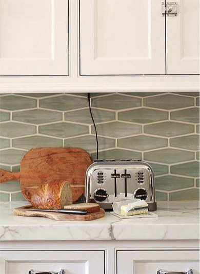 Kitchen Tile Backsplash Ideas Suitable For Your Kitchen (65)