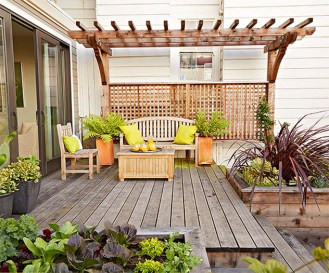 Rustic Deck Decorating Ideas For Summer