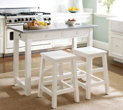 Small Kitchen Table With Chairs And White Bench