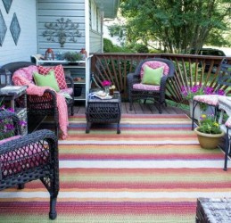 Stunning Decorating Your Deck With Flowers