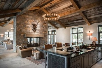Stunning Rustic Living Room Design Trends and Ideas (48)