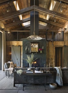 Stunning Rustic Living Room Design Trends and Ideas (50)