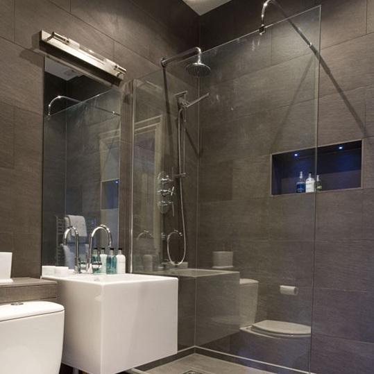 large grey wall tiles. black tiles kitchen wall kitchen backsplash,