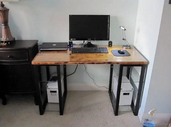 DIY Electric Computer Desk
