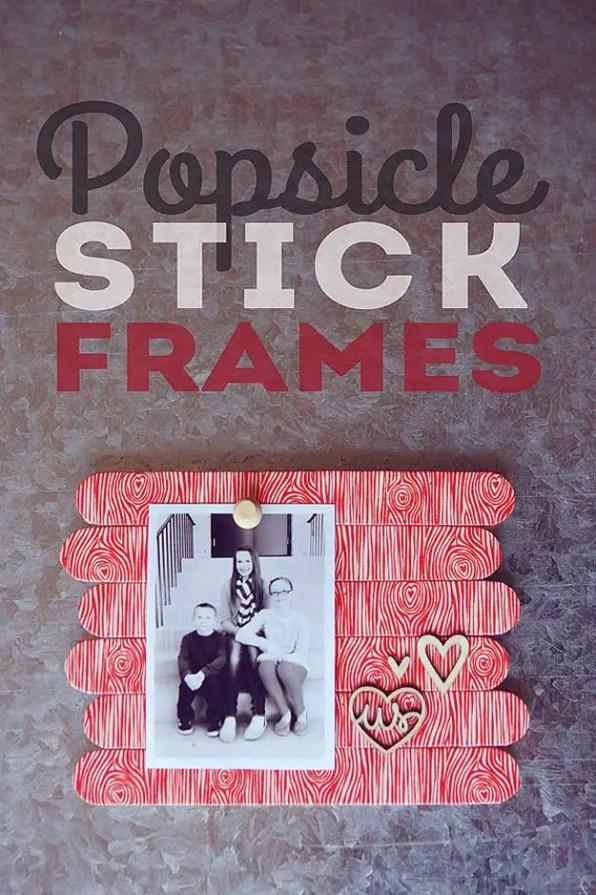 Popsicle Stick Frames