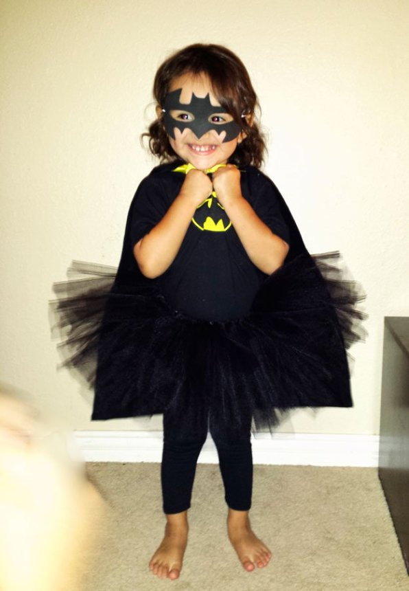 DIY Batgirl Superhero Costume