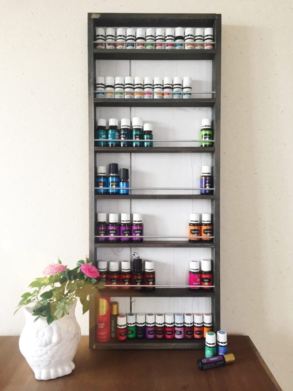 Another DIY Display Case for Your Essential Oil Collection (or Other Stuff Suitable)
