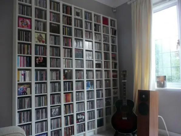 The Built-In Book...Err, DVD Closet