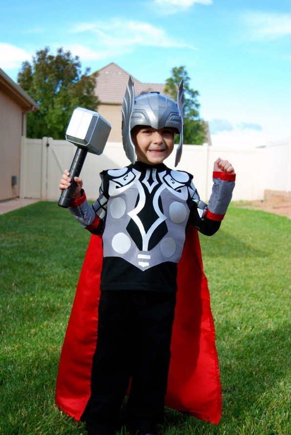 The Mighty Thor DIY Costume for Kids