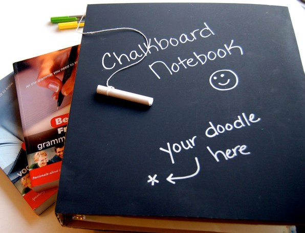 Chalkboard Notebook