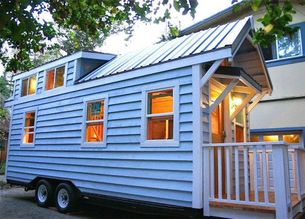 Cape Cod House in a Van