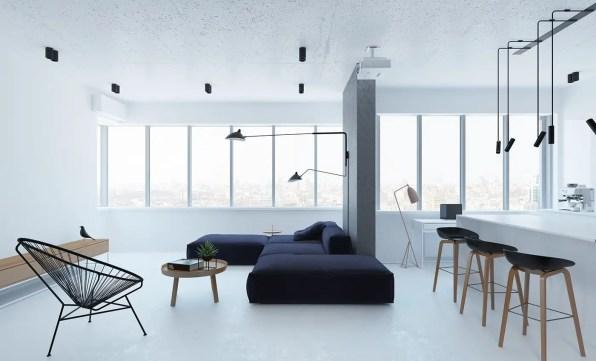 Clutter-free Interior